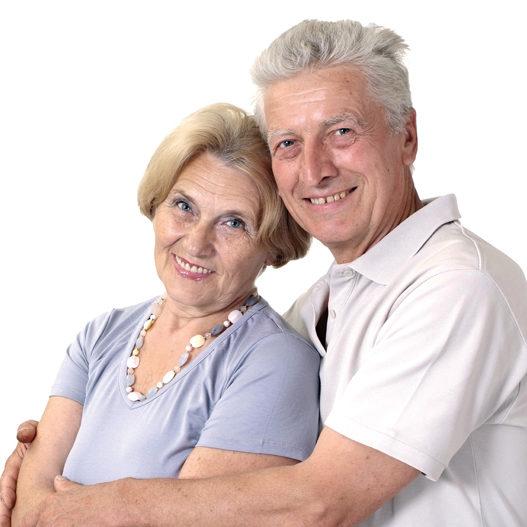 счастливый пенсионер